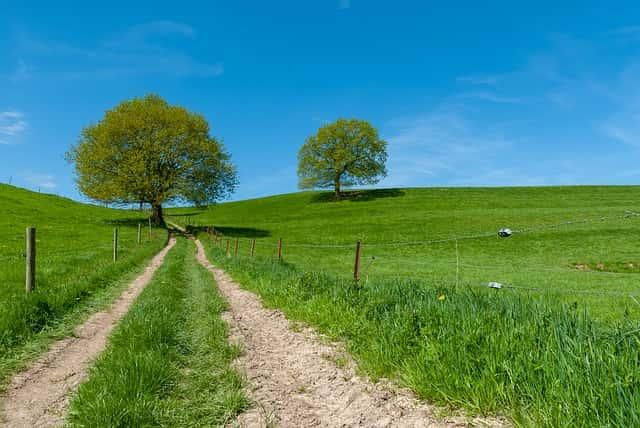 ノルマンディー村の景観