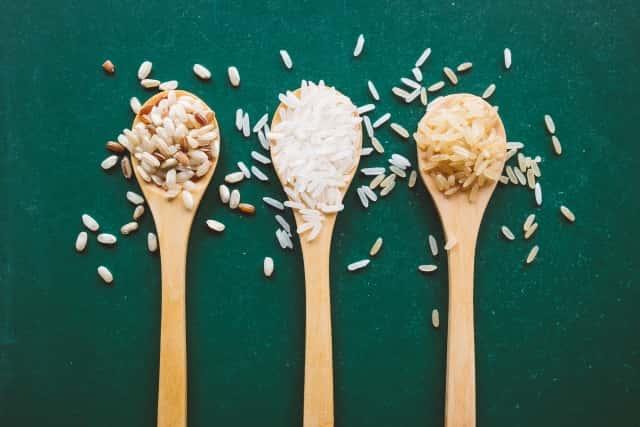 もち米と白米と玄米