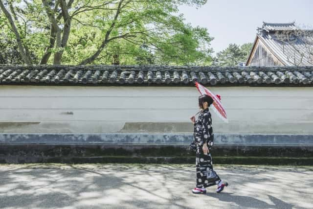 奈良公園を散歩
