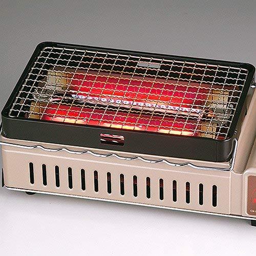 カセットコンロ式焼き鳥焼き器、熱源画像