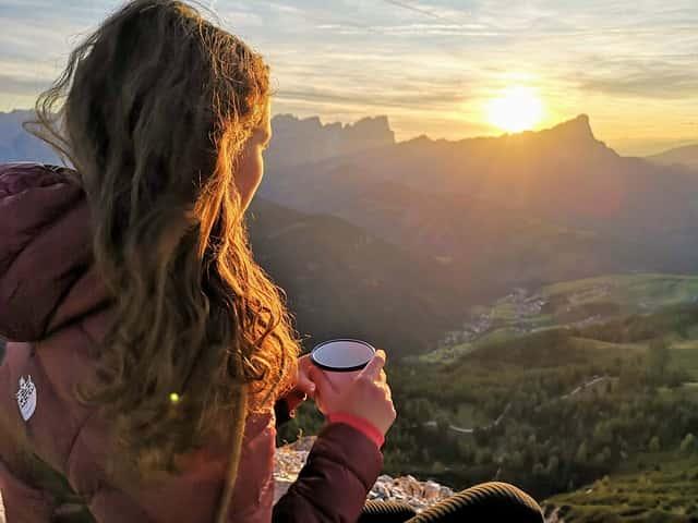 山で飲むcoffee