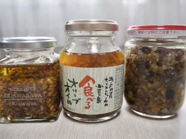 食べるオリーブオイル比較