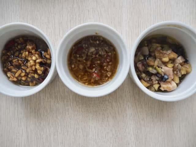 食べるオリーブオイル3種類